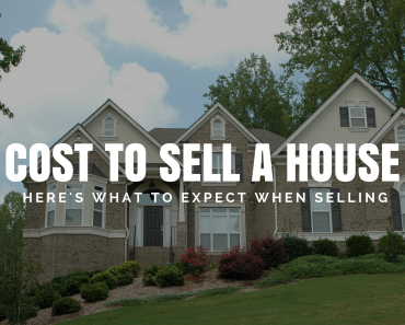 Cost To Sell A House